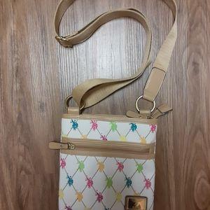 USPA crossbody purse